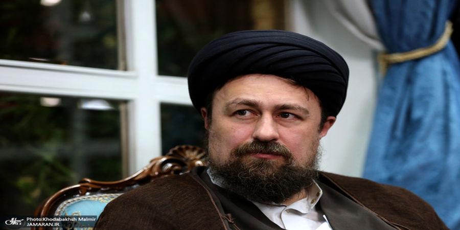 تبریک سید حسن خمینی به داور زن ایرانی+فیلم