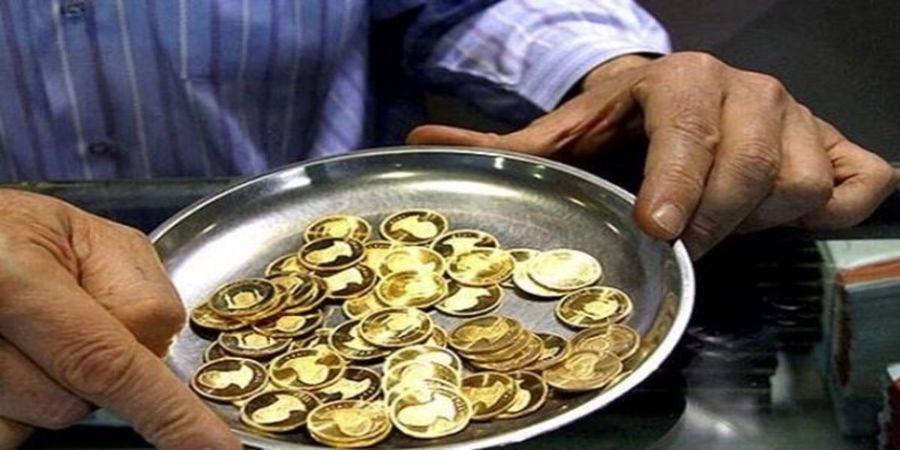 قیمت سکه امامی امروز  شنبه ۱۴۰۰/۰۵/۰۲