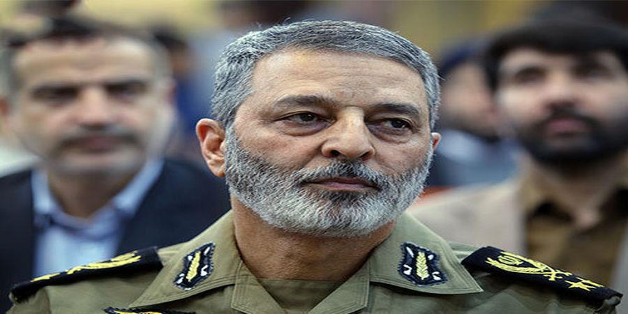 پیام تبریک فرمانده کل ارتش به سرتیپ نصیرزاده