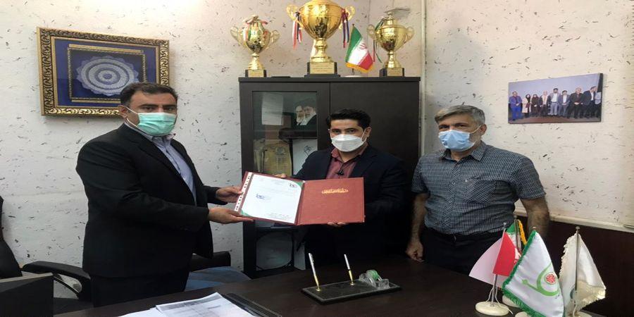 انتصاب رئیس کمیته آمار و عملکرد هیأت تنیس روی میز استان تهران