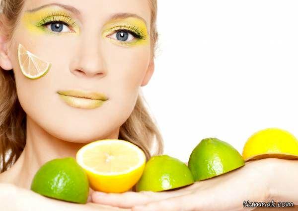لیمو ترش برای پوست