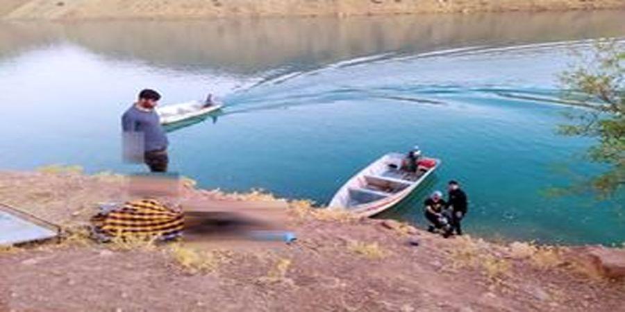 خودکشی دختر و پسر عاشق در دریاچه سد کارون+عکس
