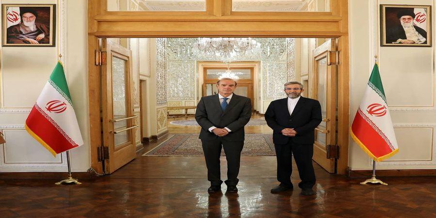 ادامه مذاکرات ایران و نماینده اتحادیه اروپا در تهران