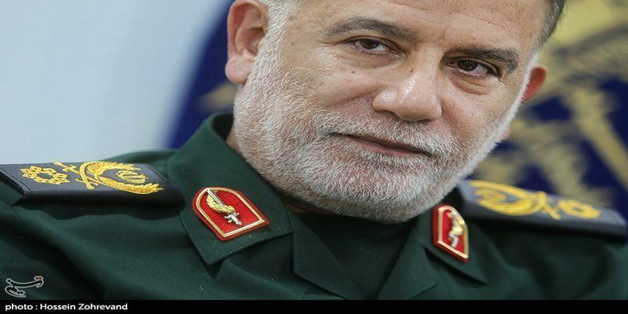 سردار نیلفروشان: سرشبکههای اصلی اسرائیل در منطقه را زیر ضربه بردیم
