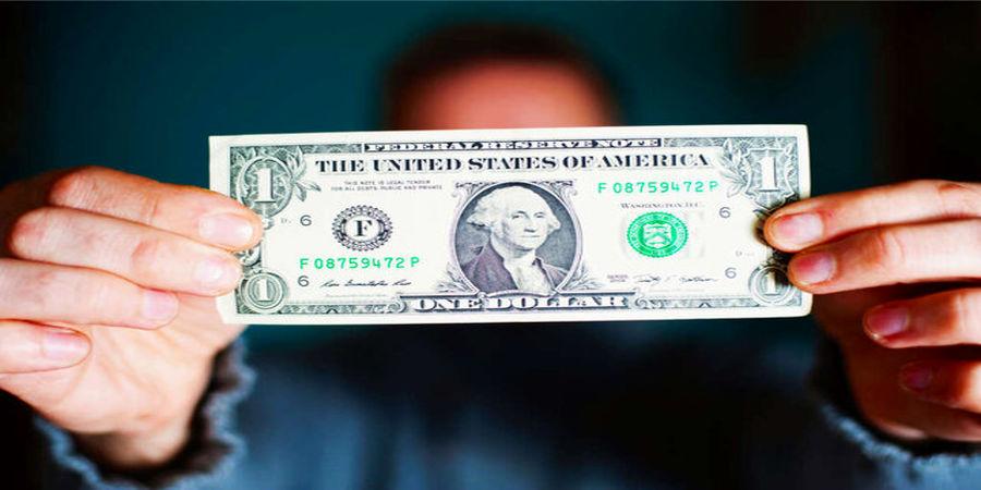 ریزش دلار در مقابل ارزهای دیگر
