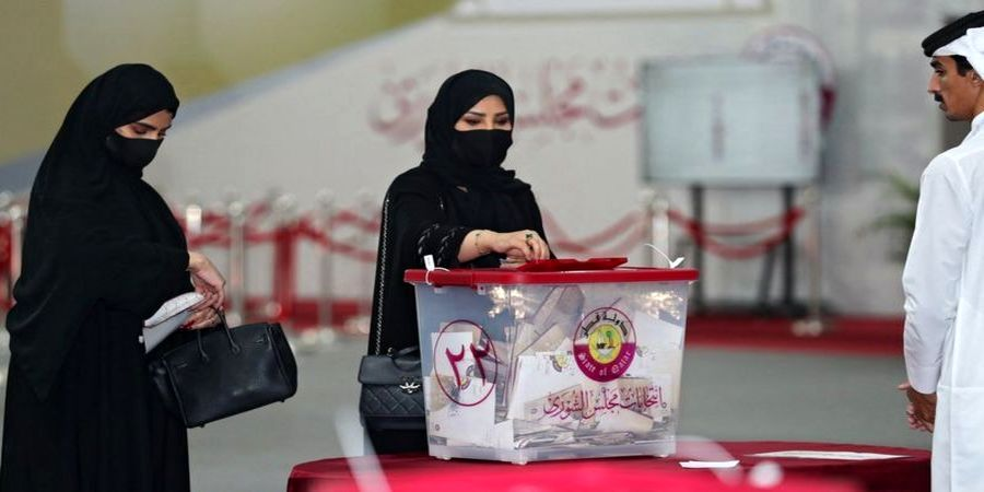 استقبال خوب قطریها از نخستین انتخابات مجلس