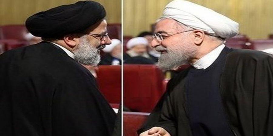 مقایسه سخنرانی اول روحانی و رئیسی  در دانشگاه