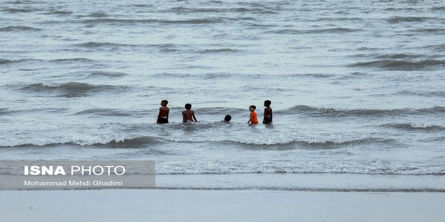 تصاویر  آرامش «ساحل» و «موج دریا»