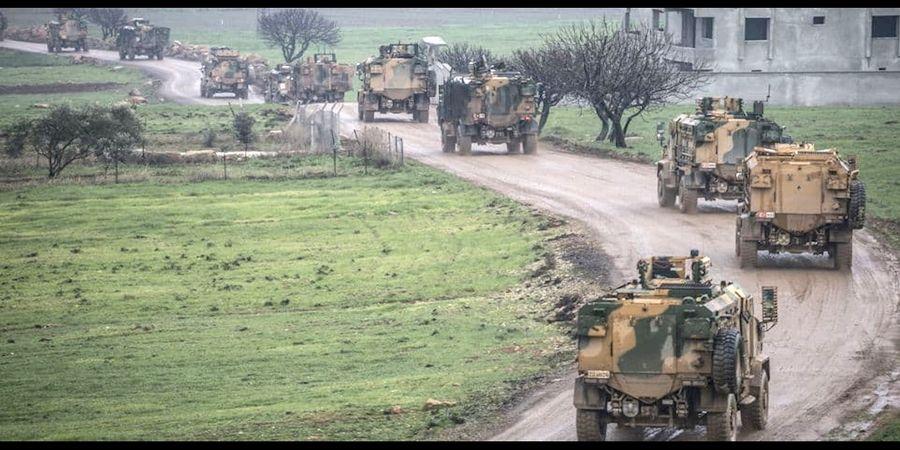 عقب نشینی نیروهای ترکیه از جنوب ادلب