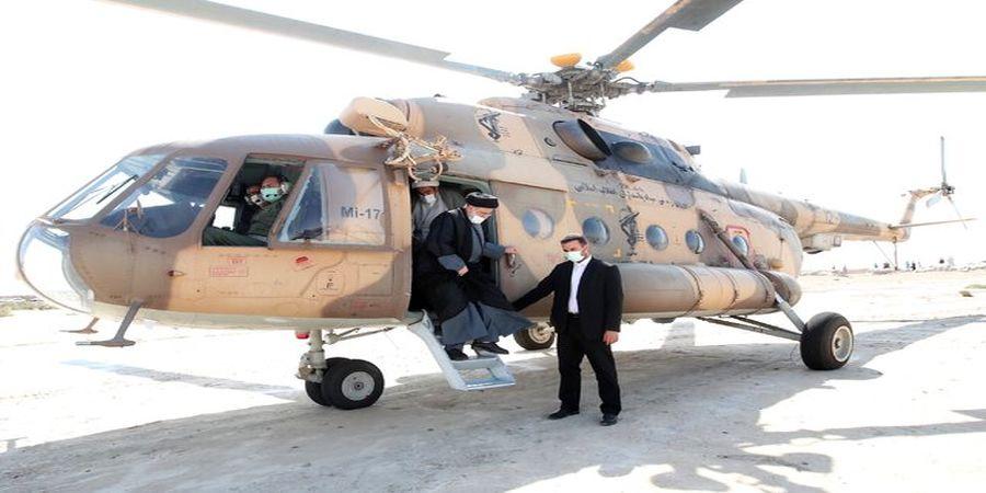 رئیسی در مرز ایران و افغانستان+ عکس