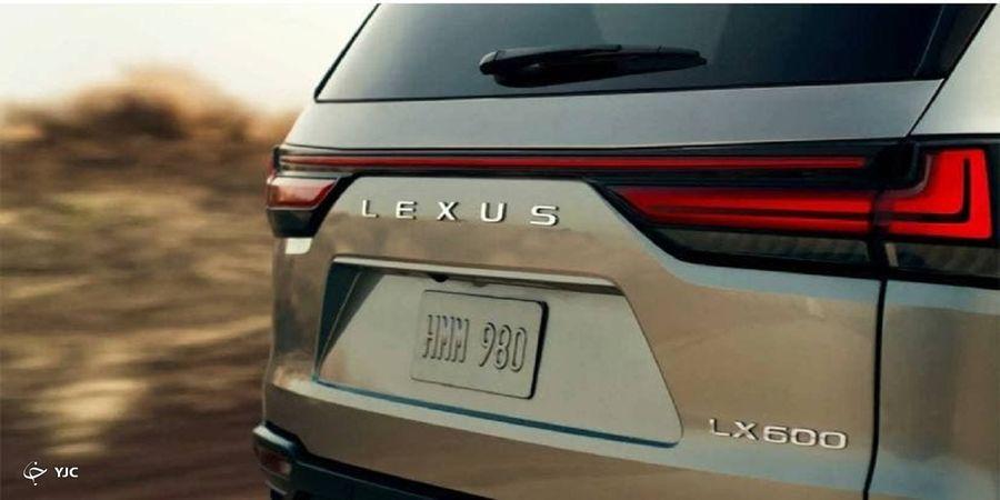 خودروی جدید لکسوس در آستانه ورود به بازار