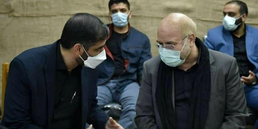 دیدار قالیباف و سردا سعید محمد بعد از حواشی جنجالی