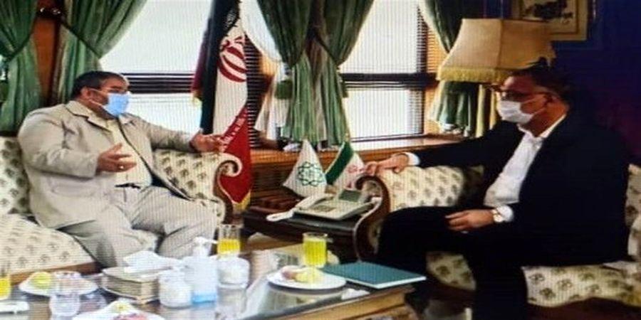 در دیدار شهردار تهران با سردار جلالی چه گذشت؟