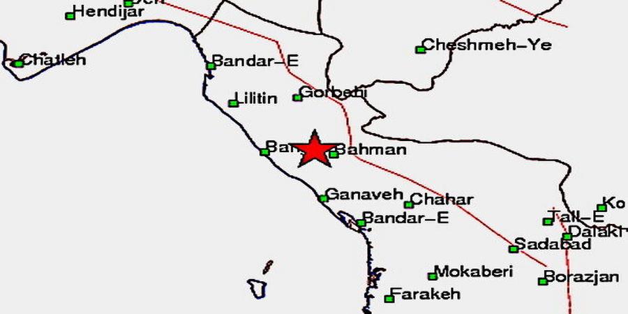 زلزله ۵.۲ ریشتری در بوشهر