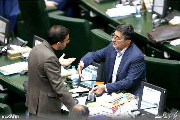 صحن علنی مجلس با حضور وزیر جهاد کشاورزی
