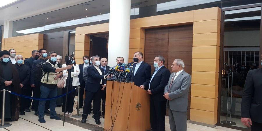 حمایت تمام قد امیرعبداللهیان از کمک به لبنان