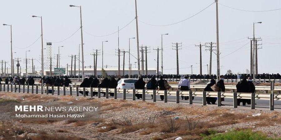 زائرین کرونا مثبت در مرز قرنطینه میشوند
