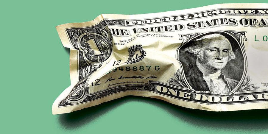 تاثیر تورم آمریکا بر ارزش دلار / دلار عقب نشست