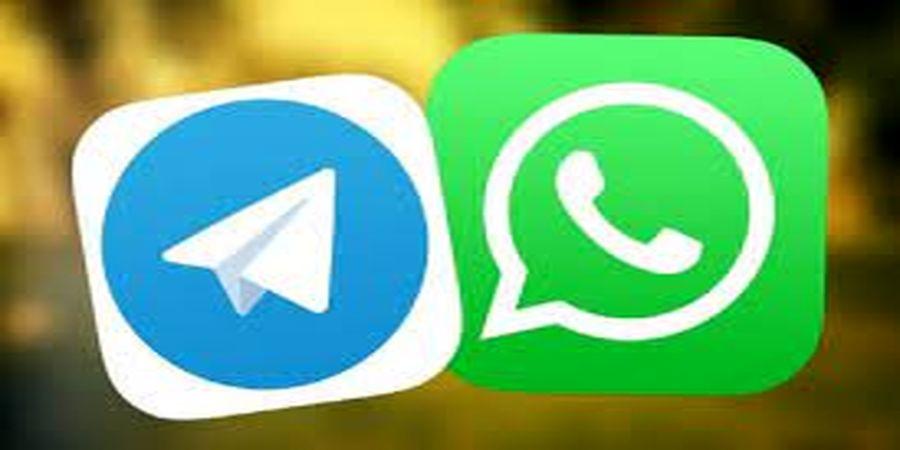 تلگرام علیه واتساپ + عکس