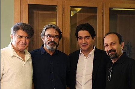 اصغر فرهادی، همایون، حسین علیزاده ومحمدرضا شجریان