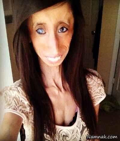 زشت ترین و موفق ترین دختر دنیا عکس!