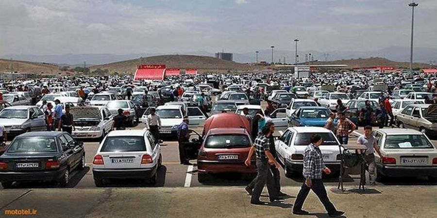 نوسان ۱ تا ۵ میلیون تومانی قیمت خودروها در بازار