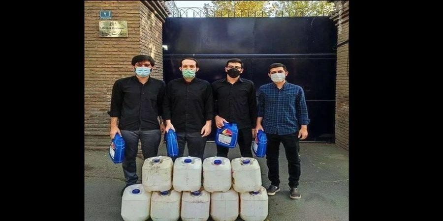 اهدای سوخت به انگلیسیها از سوی دانشجویان ایرانی!+عکس