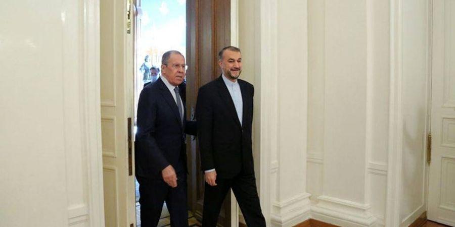 گزارش توئیتری امیرعبداللهیان  از دیدار با  لاوروف در مسکو