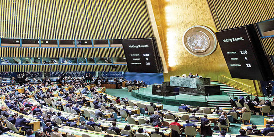 واکنش جالب نماینده کوبا در مواجهه با نماینده اسرائیل در سازمان ملل