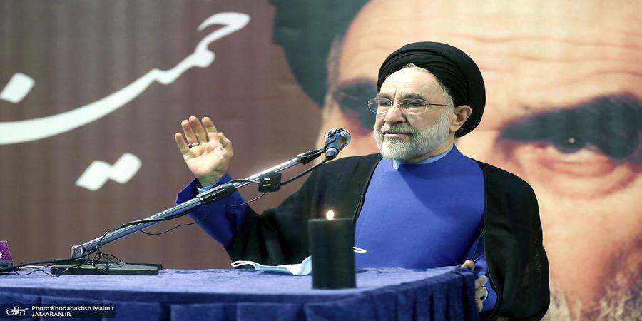 سخنرانی سید محمد خاتمی در چهلمین روز درگذشت علامه حکیمی+ تصاویر