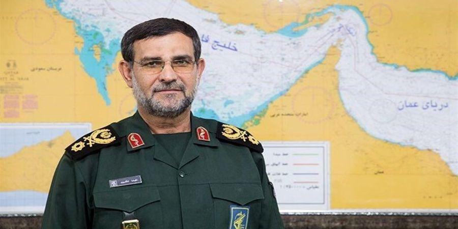 خط و نشان فرمانده نیروی دریایی سپاه در تنگنه هرمز