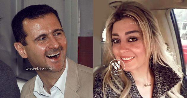 فاتن-نهار-بشار-الاسد